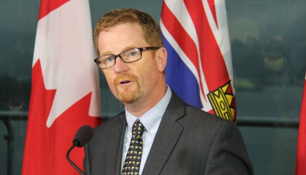 Health Minister Terry Lake will present the BC Care Awards on February 23, 2015