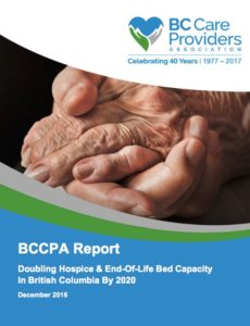 Click to download BCCPA's report on end-of-life care in BC
