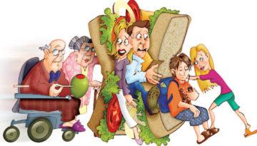 Sandwich-generation