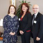 Hon. Jane Philpott, Candace Chartier (OLTCA), Daniel Fontaine