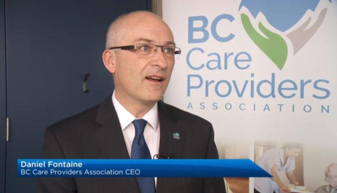 Daniel Fontaine on Global BC News Hour