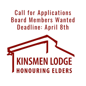 Kinsmen Lodge: Call for Board Members