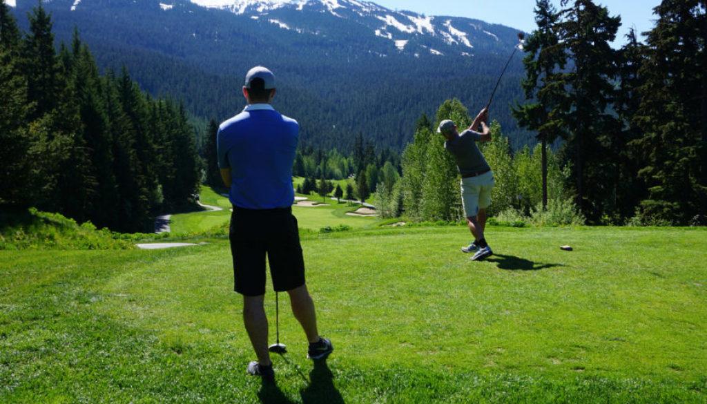 Golf Course Whistler