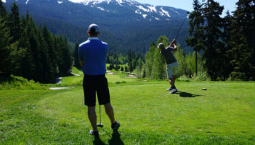 Golf Course Whistler