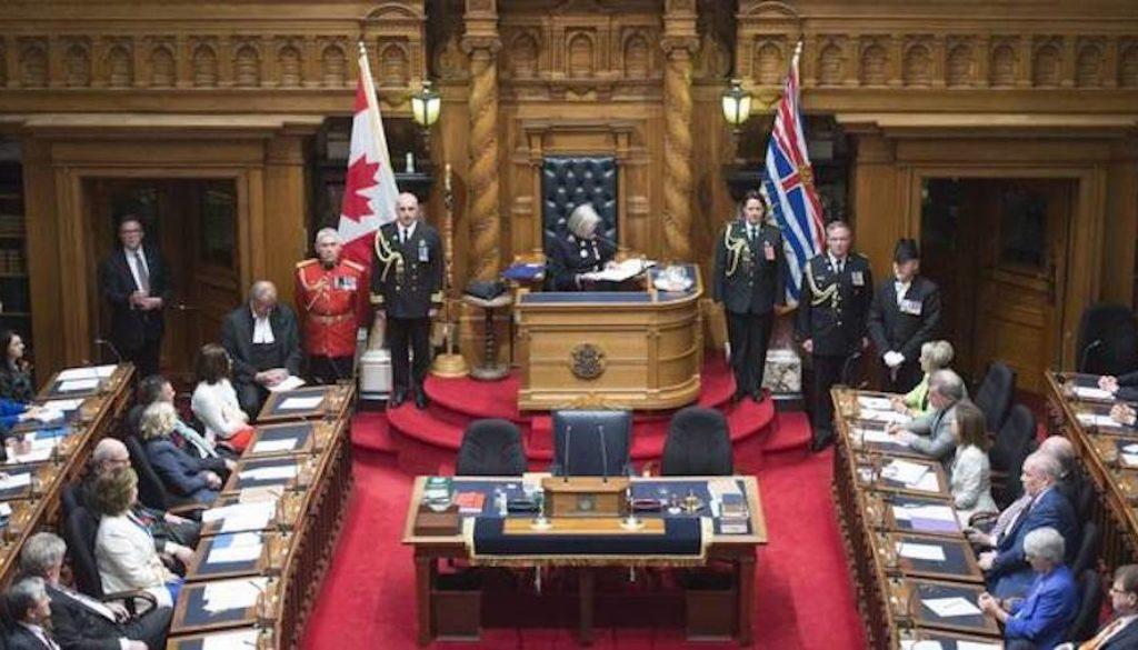 BC Throne Speech
