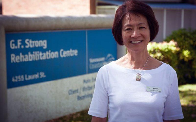 Dianna Mah-Jones, Occupational Therapist