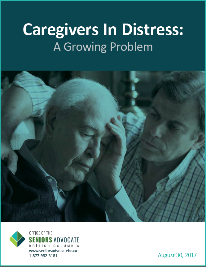 caregivers in distress
