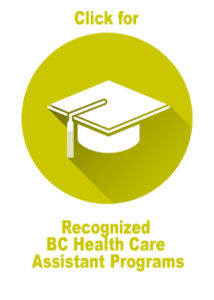 Recognized BC Health Care Assistant Programs