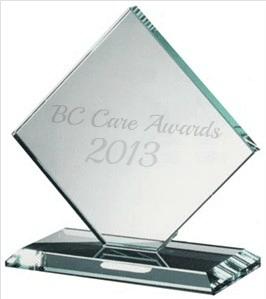 BC Care Glass Award 2013