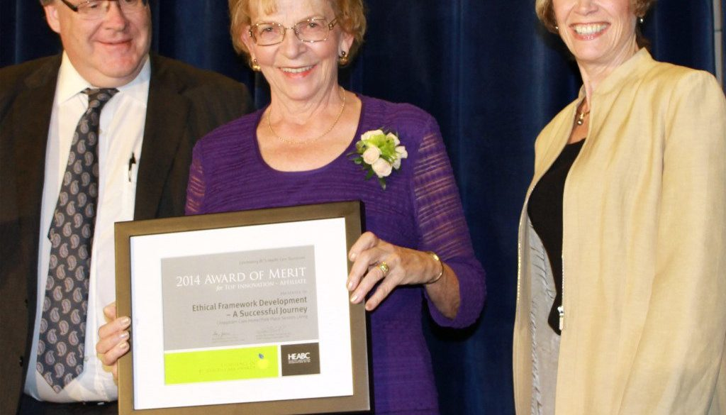 Accreditation Coordinator Louise Johnson, RN, received an Award of Merit at the province-wide Excellence in B.C. Health Care Awards.