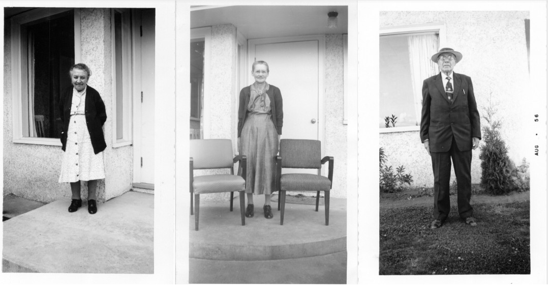 The first residents of Menno Home were photographed by the first houseparent, Peter Dick