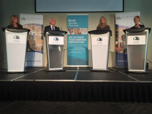 In September 2015 the BCCPA hosted a federal election debate featuring high-profile candidates from the nation's four major political parties.