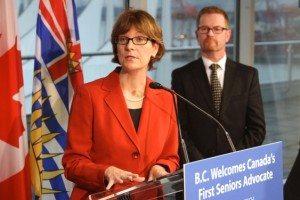 Isobel Mackenzie, BC's first-ever Seniors Advocate