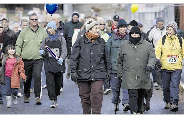 On Jan. 26, people across British Columbia will be participating in the Investors Group Walk for Memories, which is aimed at supporting families affected by Alzheimer's and other types of dementia. Photograph by: Darren Stone, Victoria Times Colonist Files, Vancouver Sun