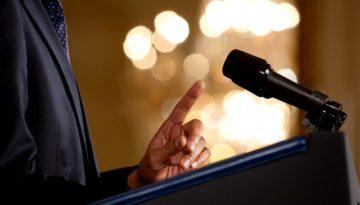 mic podium