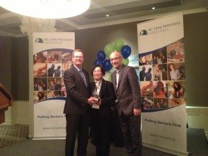 Karen Mac is the first BC Care Provider of the year