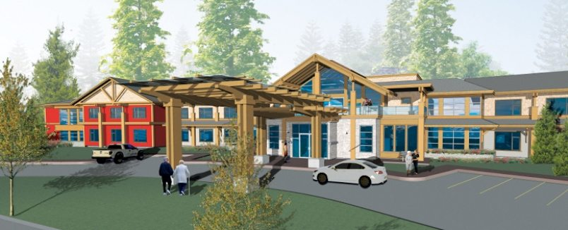 Artists rendering of the new Silverstone Care Centre